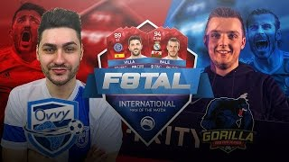 Ovvy vs THE BEST FIFA 16 PLAYER IN THE WORLD - PRO F8TAL vs GORILLA - iMOTM F8TAL KNOCKOUTS Leg 2