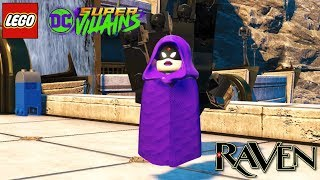LEGO DC Super Villains Raven Free Roam Gameplay