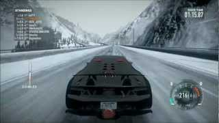 NFS The Run - Lamborghini Sesto Elemento - Snow - i7 2600K - XFX HD 6870