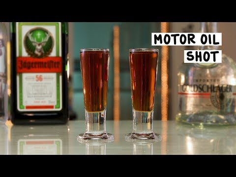 Motor Oil Shot - Tipsy Bartender