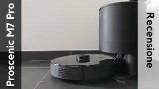 Recensione Proscenic M7 Pro Lava i Pavimenti e può Svuotarsi Automaticamente