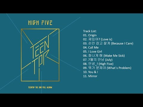 [Full Album] TEEN TOP – HIGH FIVE