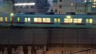 西鉄 福岡(天神)行き 急行 西鉄久留米到着