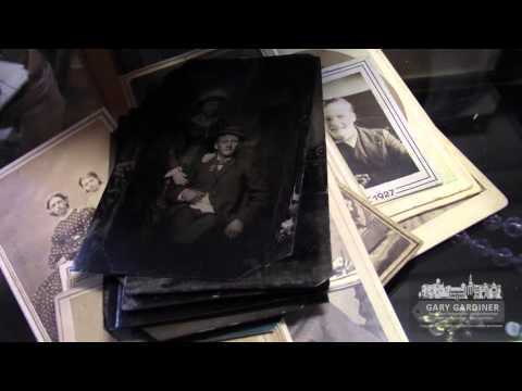 A Video A Day - Sorting newly acquired tintypes at Westerville Antiques - January 3, 2016