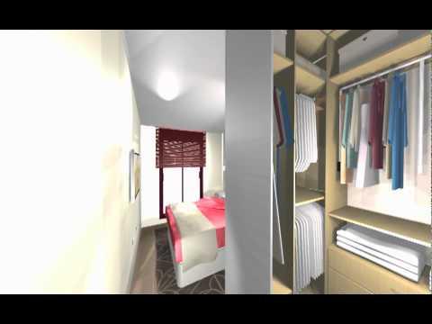 Un Gran Vestidor Sin Puertas En Dormitorio Arredo Mov