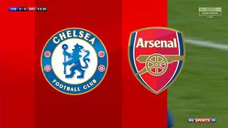 chelsea vs arsenal carabao cup highlights