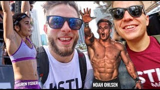 The WODAPALOOZA // The Best CROSSFIT event in the WORLD?! - DAY 1