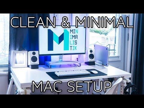 My Clean & Minimal MacBook Setup (2018)