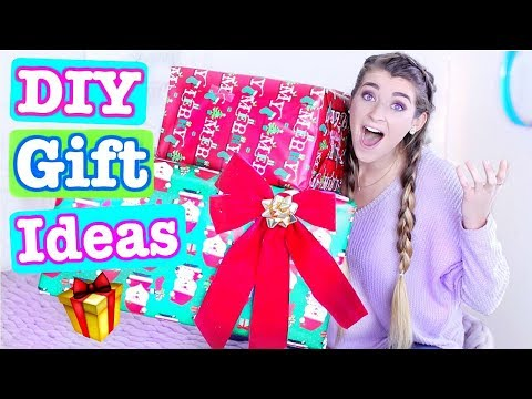DIY GIFT IDEAS 2017! Cheap + Easy Gifts For Family & Friends This Christmas!