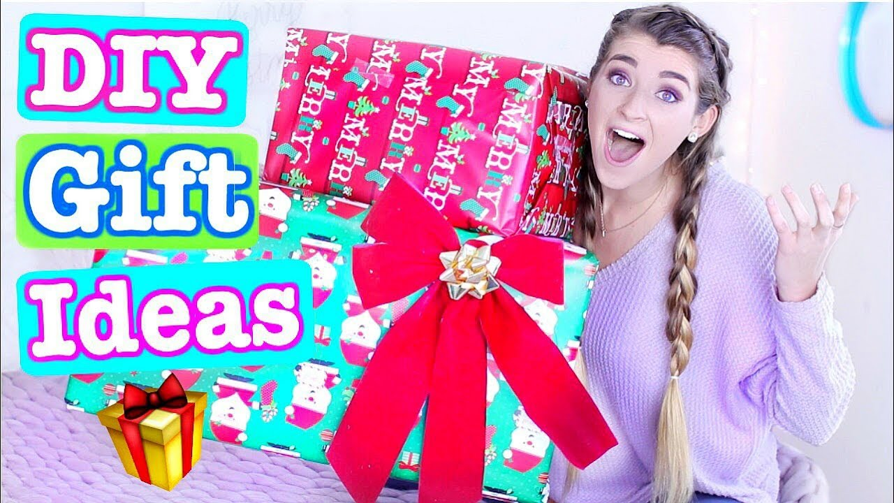 DIY GIFT IDEAS 2017! Cheap + Easy Gifts For Family