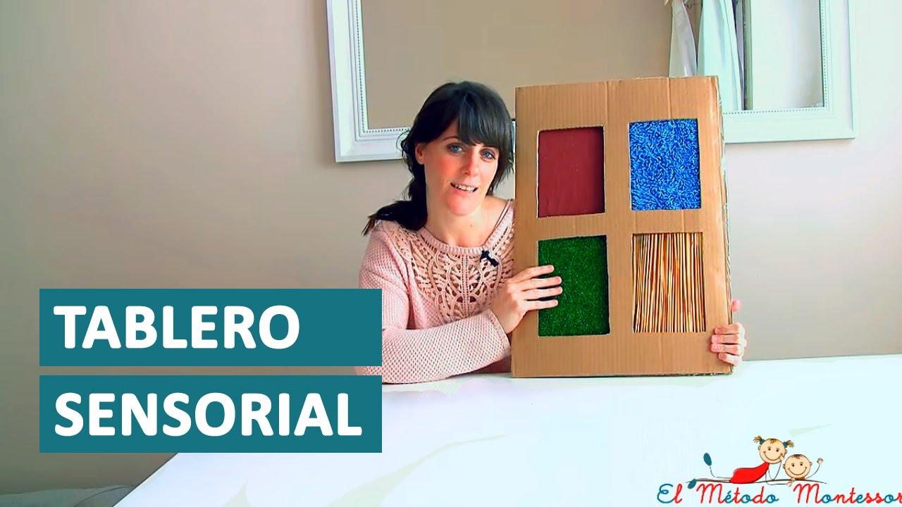 Tablero Sensorial Montessori El Metodo Montessori Youtube