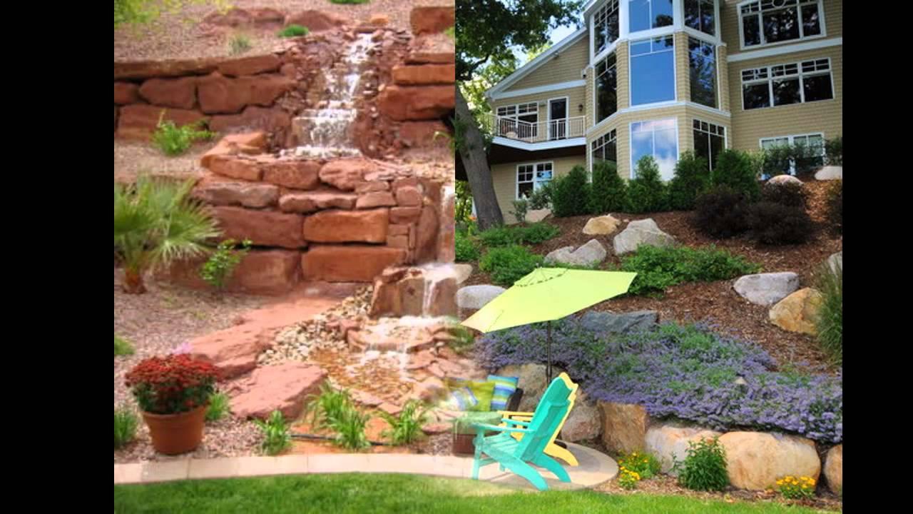 good hillside landscaping ideas