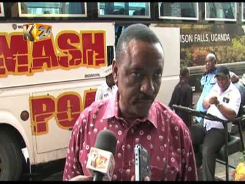 Transport paralyzed after gas tanker explodes at Chyulu