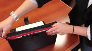 Digital Treasures Ultrabook PadFolio Case - 13.3 Rundown