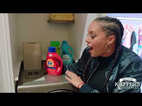 Whirlpool Smart All-in-One Washer & Dryer with Tia Mowry