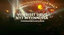 Apulanta - Toiset jumalat -lisäkeikka - Liput myynnissä nyt!