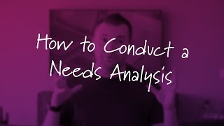 Download How to Conduct a Needs Analysis Mp3 and Videos