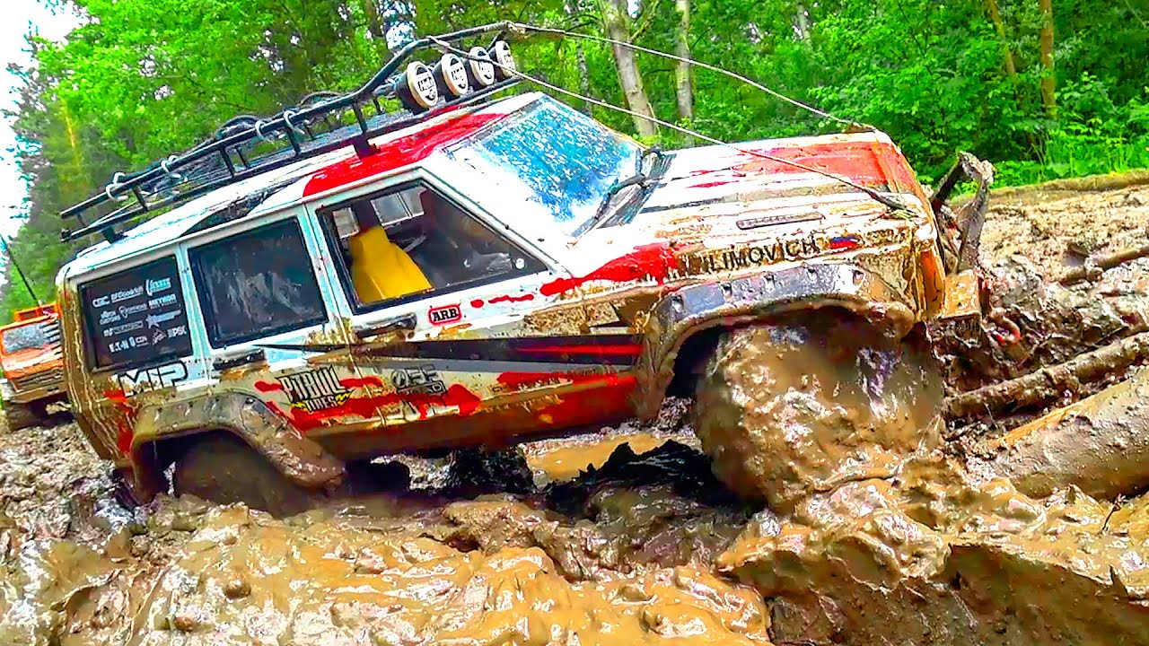 Cars MUD and Stone OFF Road – Jeep, UAZ, Land Rover – Wilimovich
