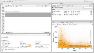 Erstellen von Streudiagrammen - Datenanalyse mit R
