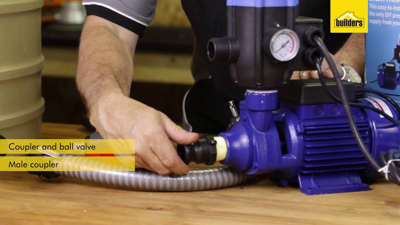 How To Install A Jojo Pump To Tank Connector Kit Youtube