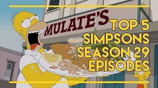 The Top 5 Simpsons Season 29 Episodes