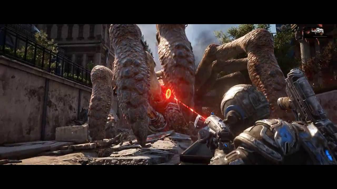 Gears Of War 4 Ultrawide: Gears Of War 4 21:9 Ultra Gameplay