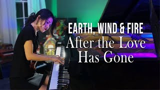 After the Love Has Gone (Earth, Wind & Fire) Piano Cover by Sangah Noona