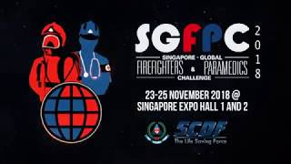 Singapore-Global Firefighters & Paramedics Challenge 2018