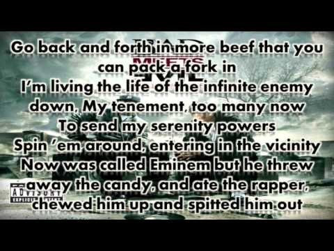 Eminem ft Royce Da 5'9 - Fast Lane Lyrics