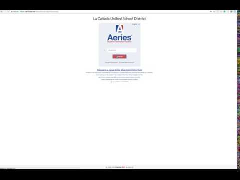 Creating a Parent Portal Account in Aeries