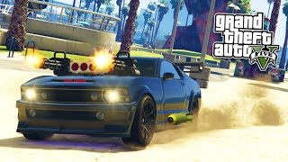 GTA 5 PC Mods - EXTREME VEHICLE MODS!!! GTA 5 Knight Rider Gameplay! (GTA 5 Mods Gameplay)