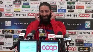 Catanzaro-Catania 1-2, intervista nel dopo partita a Marotta