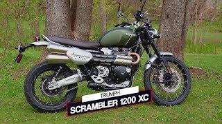 Triumph Scrambler 1200 XC | Essai moto | Action moteur sport MOTO