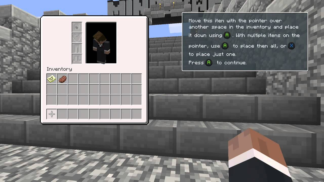 Minecraft: Xbox One Edition tutorial part 1