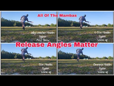 Innova Disc Review | Mamba (4 molds)