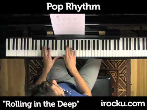 rolling in the deep piano music pdf