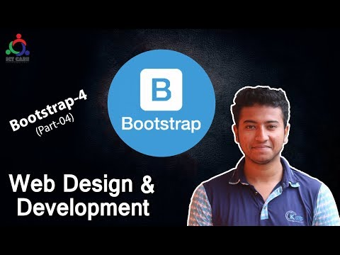 Web Design Bangla Bootstrap Tutorial Part_4! Bootstrap 4 Bangla tutorial By ICT CARE! thumbnail