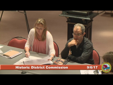 Historic District Commission 9.6.17