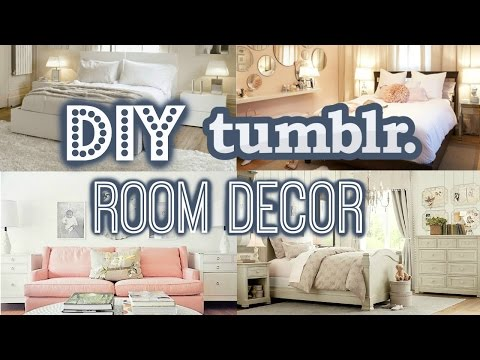 DIY Room Decor For Small Rooms- Tumblr Inspired (Summer 2016!)