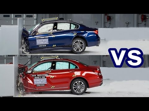 2017 BMW 3 Series Vs 2016 Mercedes C-Class - Crash Test