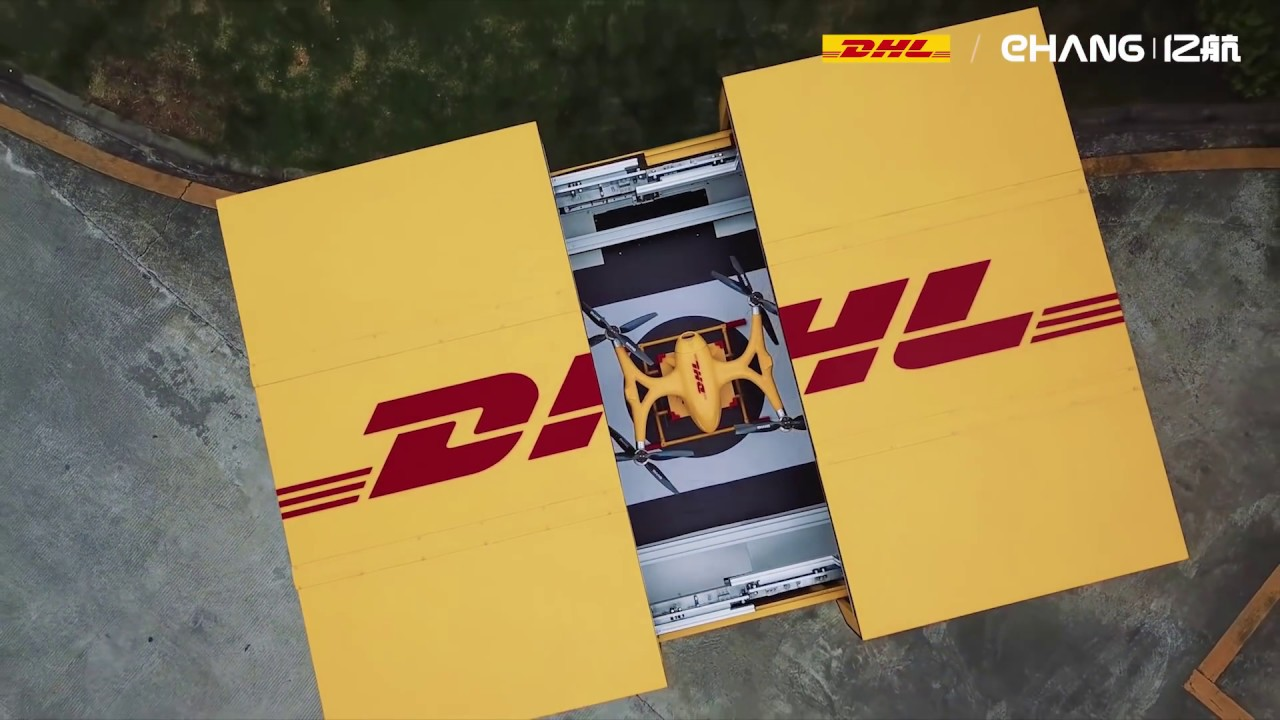 DHL & EHang jointly launched Smart Drone Delivery Solution | EHang