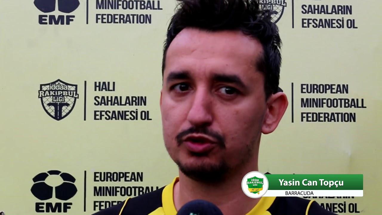 Yasin Can Topçu - Barracuda / iddaa Rakipbul Ligi 2017 - YouTube