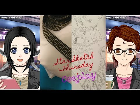~Star-Sketch Thursday!~ {Cosplay,New Frappe,Sketching}