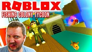 THEN THERE MUST BE FISHING! -Roblox Fishing Colony Tycoon Ep 1 english
