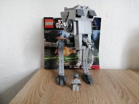 Heti videó: 35# Lego Star Wars 7657 AT-ST