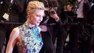 Cate Blanchett on the Zimna Wojna red carpet premiere in Cannes