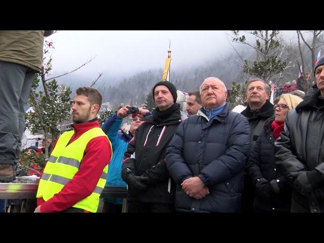 14.01.2018 Govor Lare Jankovič na proslavi v Dražgošah
