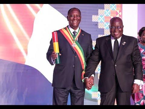 Visite officielle d'Amitié et de Travail au Ghana du Président Alassane OUATTARA