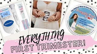 The First Trimester: Trying, Finding Out, Morning Sickness, First Doctor Visit!