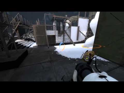 Covering area with cum in Portal 2
